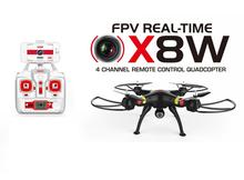Syma X8W FPV WiFi Real Time 2.4G 4ch 6 Axis with 2MP RC Quadcopter RC helicopter RC drone free shipping