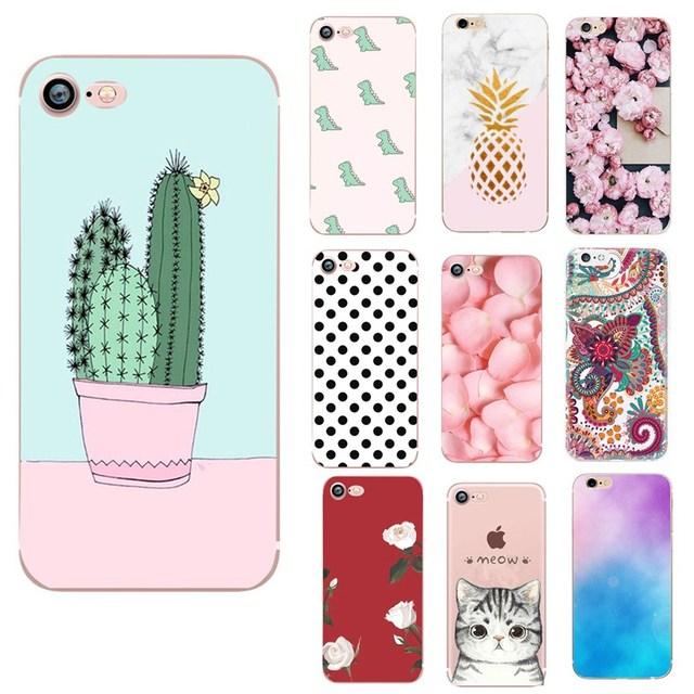 Caso para Iphone 6 S 6 S de silicona suave TPU Capa para Iphone 7 Plus IphoneX XS 7 8 Plus 5 5S SE funda de lujo accesorios para teléfono