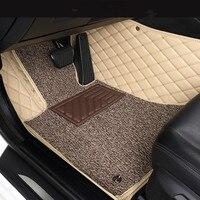 Custom car floor mats for PORSCHE All Models Cayman Mancan 911 997 Panamera accessorie car styling floor mat