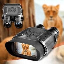 7X31 бинокль ночного видения Инфракрасный цифровой охотничий 400 м прицел 2,0 ЖК-дисплей военный День ночного видения очки Телескоп фото Huntet