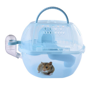 Hamster plastic Cage small pets house for Hamster squirrel Guinea pig Chinchilla ferret rabbit small pets toys house accessories