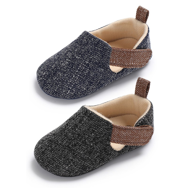 WEIXINBUY Fashion Baby Boy Shoes Non-slip Breathable Toddler Shoes Children First Walkers Hook & Loop Shoes