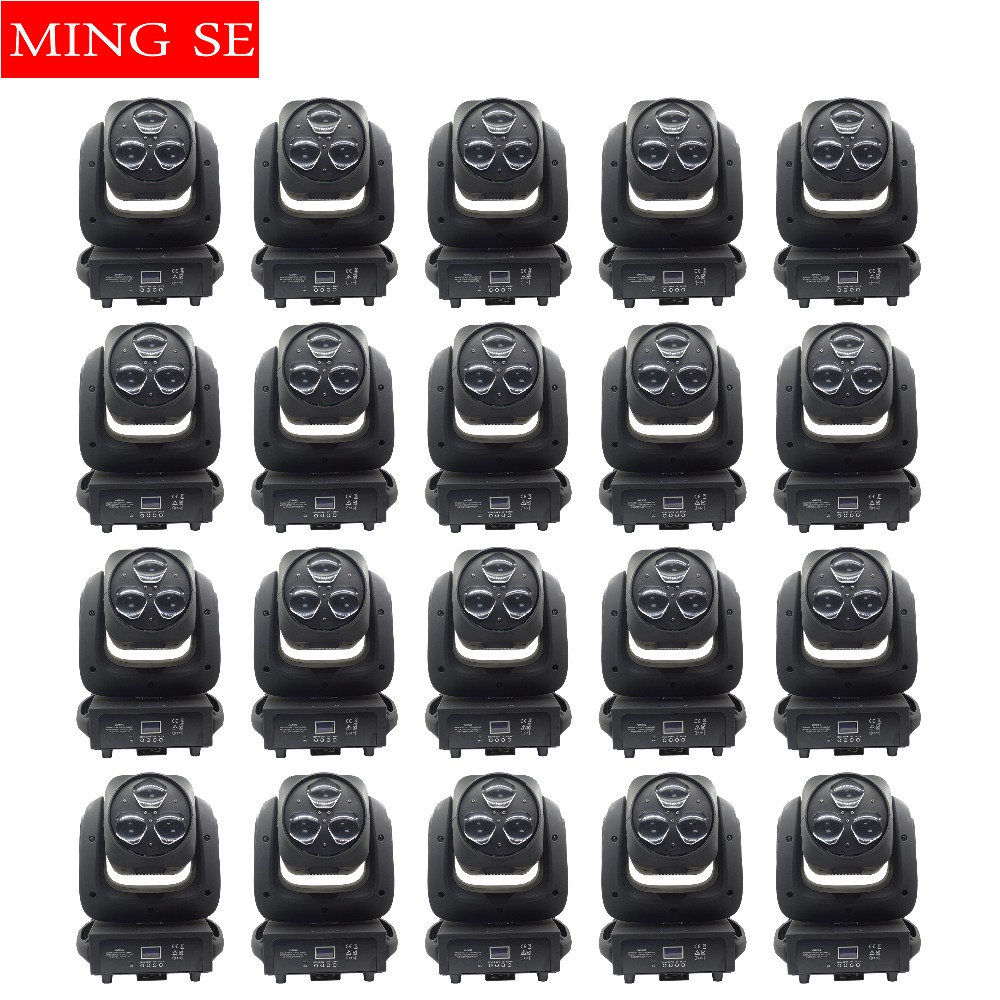 20pcs/lots Beam Light 3x40W RGBW 4IN1 LED Bee Eyes Moving Head Light With Zoom Moving light Disco Bar Stage Lights