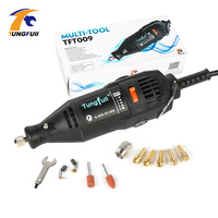 180W Dremel Drill Mini Electric Mill Jade Olive Wood Root Carving Tool Multipro All In One