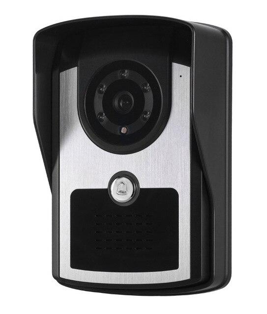 Фото видеодомофон yobang водонепроницаемый телефон с экраном 7 дюймов