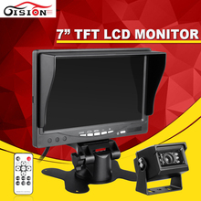 DropShipping 800×480 HD TFT LCD Car Monitor With 7inch +Car Parking Assisstance Rear View Backup Reversing Waterproof Bus Camera