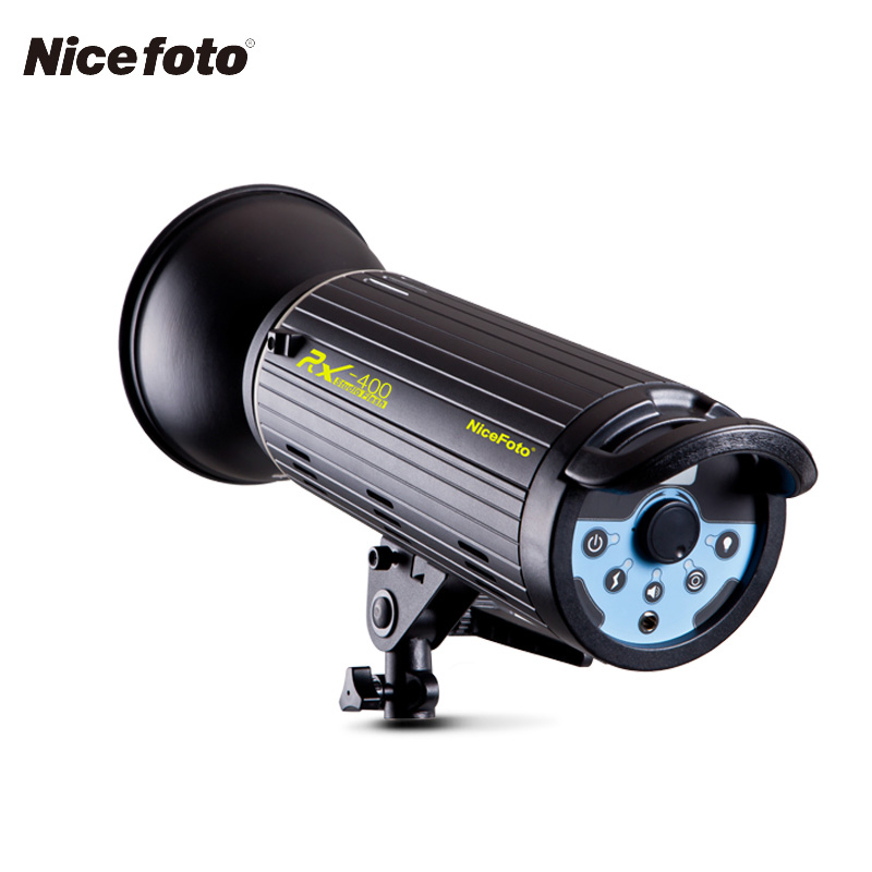 The Flash NiceFoto RX-400 400W Flash Photography Studio Flash Strobe Speed Light With Modeling Lamp Flash Speedlite