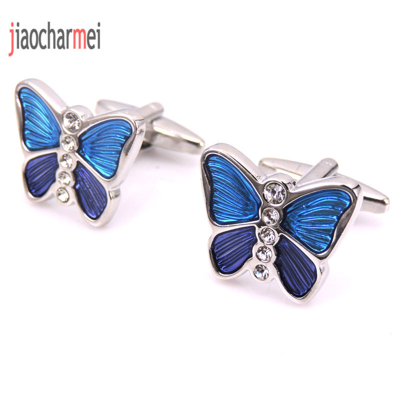 JM high quality men's fashion boutique brand Cufflinks beautiful butterfly cufflinks, French shirt clothing accessories