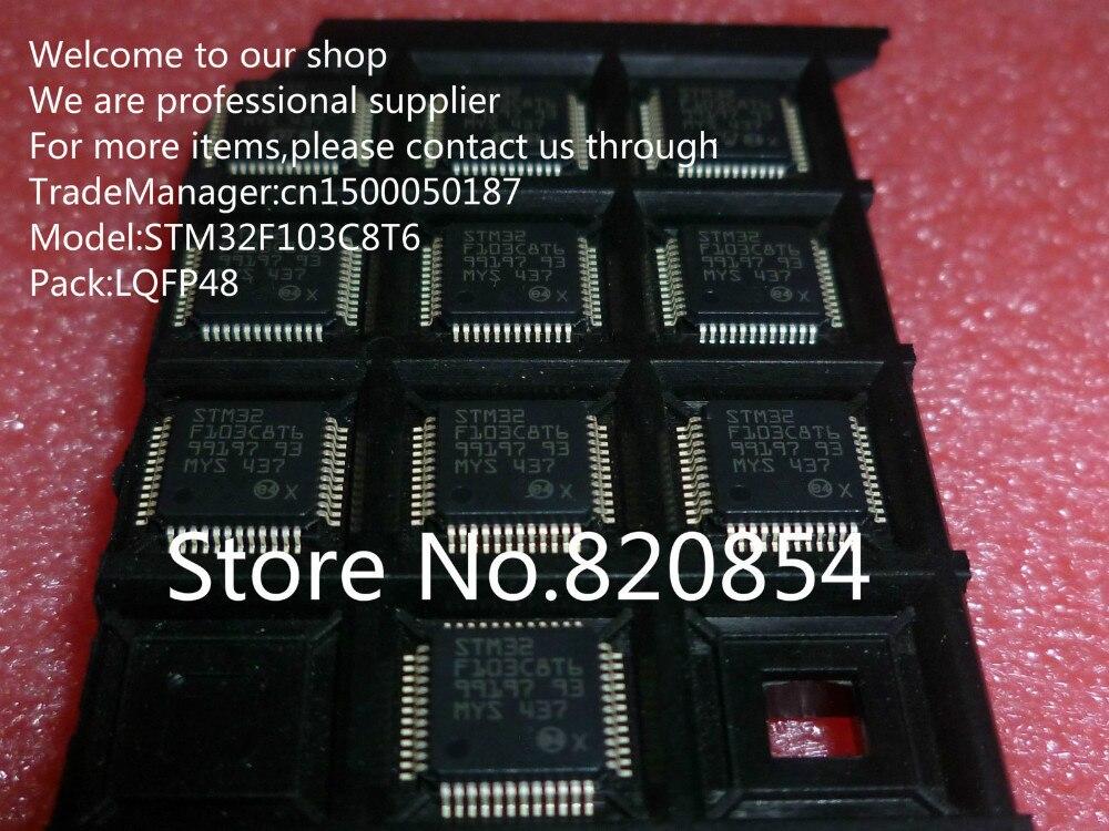 200pcs lot STM32F103C8T6 STM32F103C8 STM32F103 LQFP48