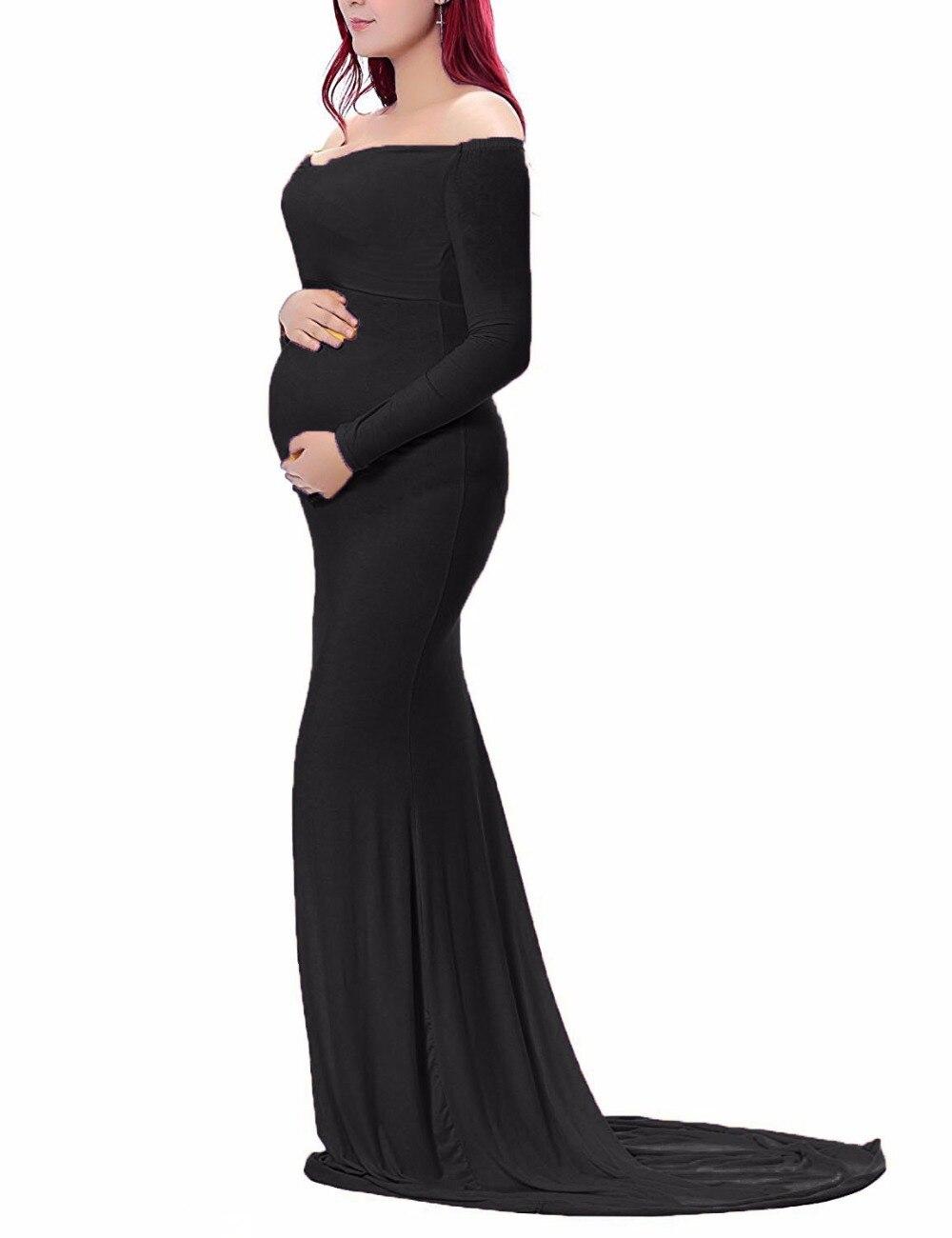 f51b3fe7b2332 Elegant Maternity Dress For Baby Shower
