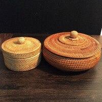 rattan storage boxes with lids rattan storage box for tea Jewelry tea box tin vintage jewelry storage organizer jewelry boxes