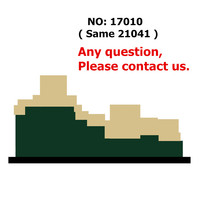 Architecture Great Wall of China Skyline Building Blocks Kit Bricks Sets Classic City Model Kids Toys For Children Gift