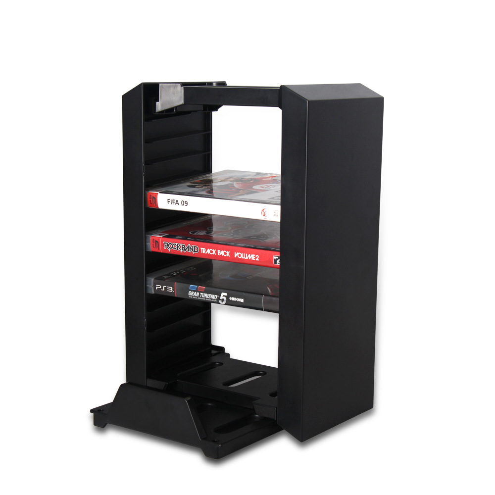 Multifunctional Game Disk Storage Tower Organizer Stand Dock Station For Sony Ps4 Slim Pro Video Game Consoles Aliexpress