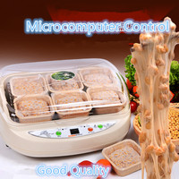 Free shipping 220V Intelligent Electric Automatic Natto Maker Microcomputer Control Beans Fermenting Machine For Healthy Food