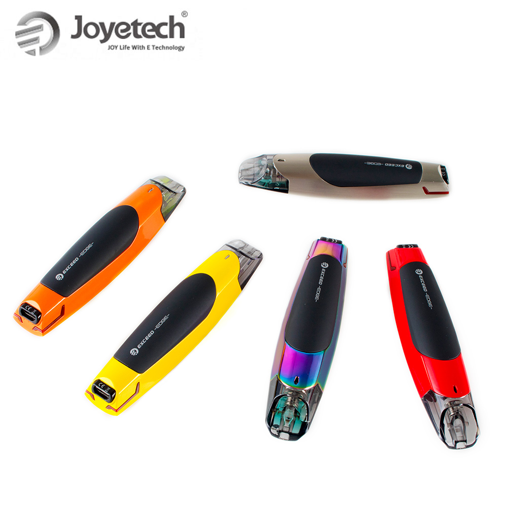 Image 5 - 100% Original Joyetech EXCEED Edge Kit With 2ml Eliquid EX 1.2ohm  Coil Built in 650mAh Battery Direct Output Wattage E  CigaretteElectronic Cigarette Kits