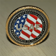 LOSE MONEY SALE!!!!! U S Air Force Veteran Challenge Coin