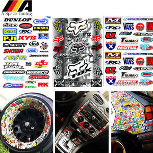 Moto Bike Graffiti Car Sticker Waterproof PVC DIY Motorcycle JDM Laptop Luggage Skateboard