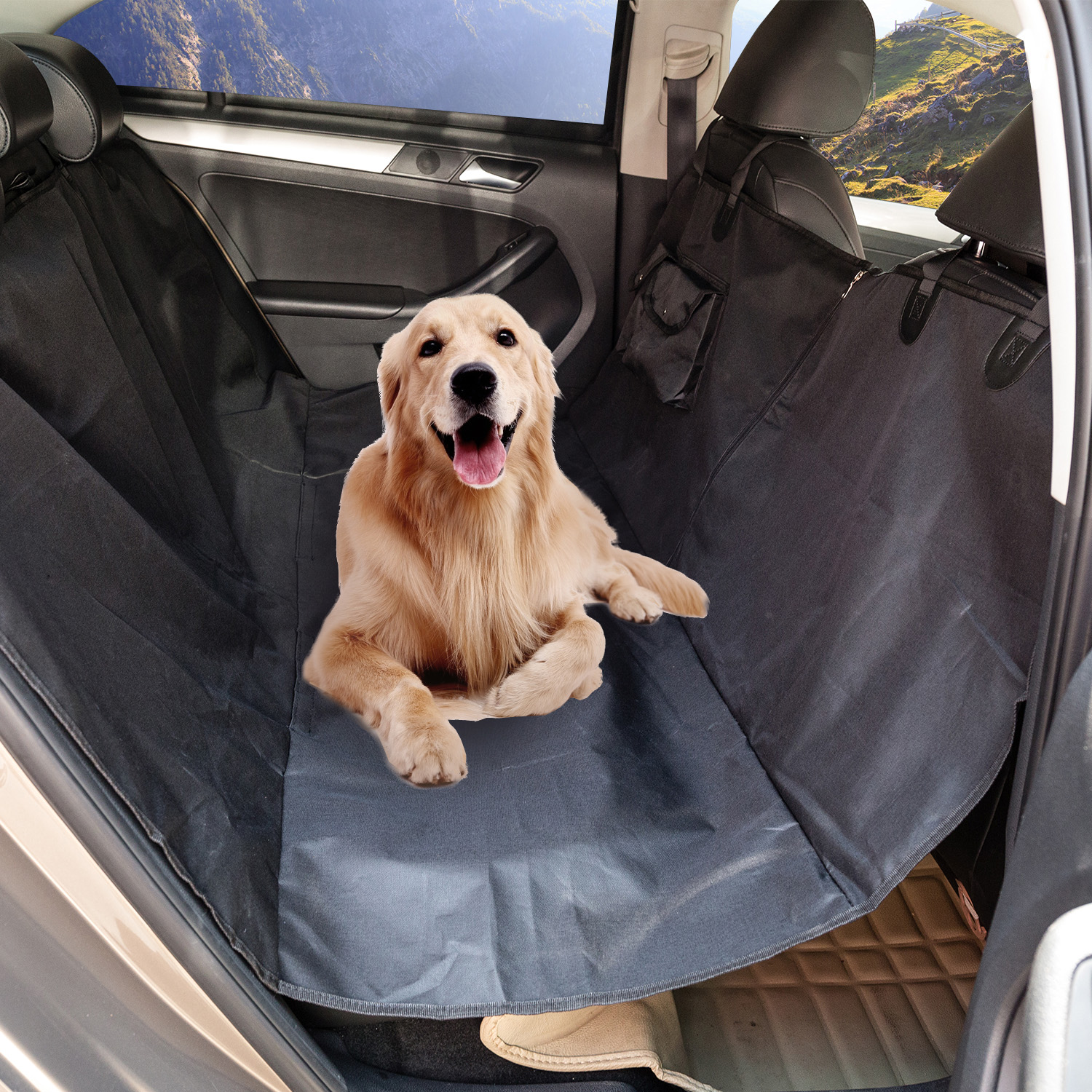 Dog Car Protector >> Us 14 99 25 Off Waterproof Quilted Non Slip Pet Dog Car Seat Cover Hammock Pet Accessories Mat Blanket Back Seat Protector In Dog Carriers From Home