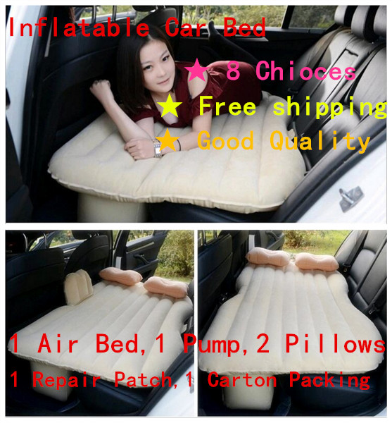 Hot sales Selling Car Back Seat Cover Car Air Mattress Travel Bed Inflatable Mattress Air Bed Good Quality Inflatable Car Bed car inflatable mattress car shock bed on board flocking inflatable bed separate type air cushion bed car split car bed