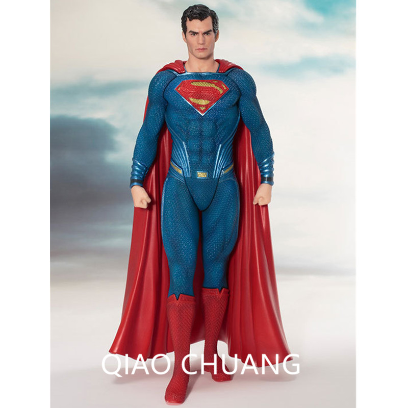 Batman v Superman: Dawn of Justice ARTFX Superhero Clark Kent Superman Statua Ver Justice League Action Figure Model Doll G492