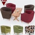 Venda por atacado! sala de estar sofá de madeira, pano do Lazer sofá Vermelho Verde Marrom conjunto de sofá sala de estar mobiliário moderno mobiliário chinês