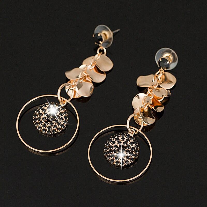 YFJEWE New Design Dangle Earring Element Austrian Crystal Earrings ...