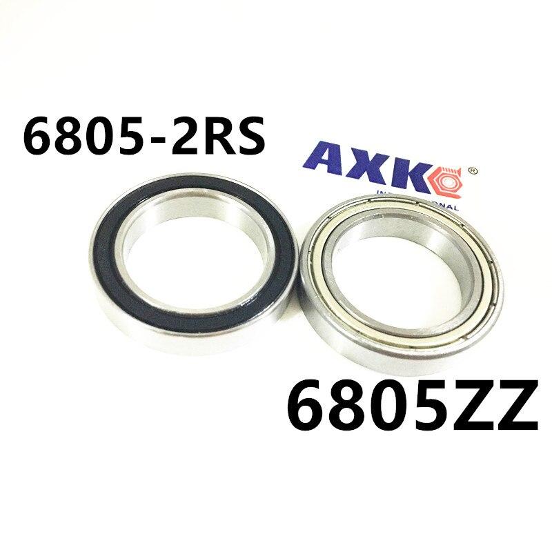 6805ZZ Bearing ABEC-1  25x37x7 mm Thin Section 6805 ZZ Ball Bearings 6805ZZ 6805-2RS 61805ZZ 25*37*7MM csec100 cscc100 csxc100 thin section bearing 10x10 75x0 375 inch 254x273 05x9 525 mm ntn kyc100 krc100 kxc100