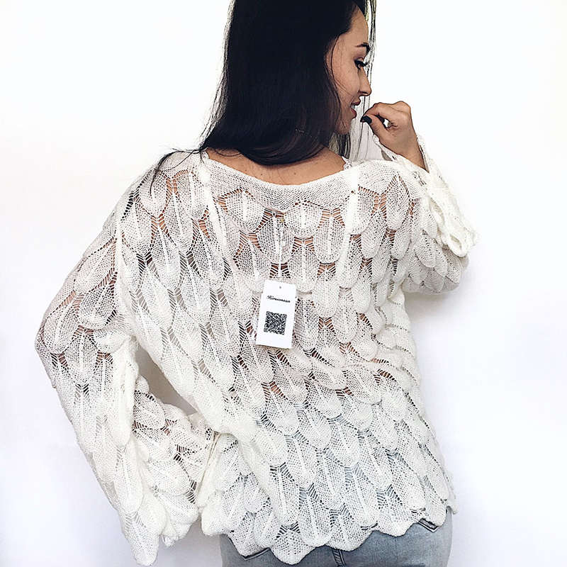 Hirsionsan Elegant Sweater Women 19 Casual Fashion Loose Women Sweaters and Pullovers Cute 3D Pink White Jumper Sueter Mujer 10