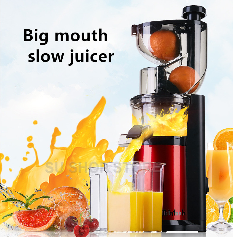 Pink Bunny juice extractor, large mouth fruit juice automatic fruit and vegetable juicer multi-function juicer machine