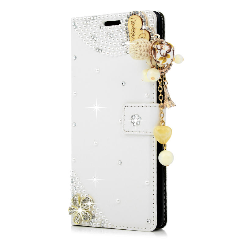 YOKIRIN Luxury Diamond Case Coque For Samsung Galaxy Note 8 Rhinestone  Wallet Stand Flip PU Leather Cover For Galaxy Note 8-in Wallet Cases from  Cellphones ... 37052551e7da