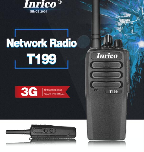 Image 2 - Network radio T199 WCDMA GSM Android 4.4.2 group calls signal calls WIFI GPS bluetooth trunking radios  walkie talkie-in Walkie Talkie from Cellphones & Telecommunications