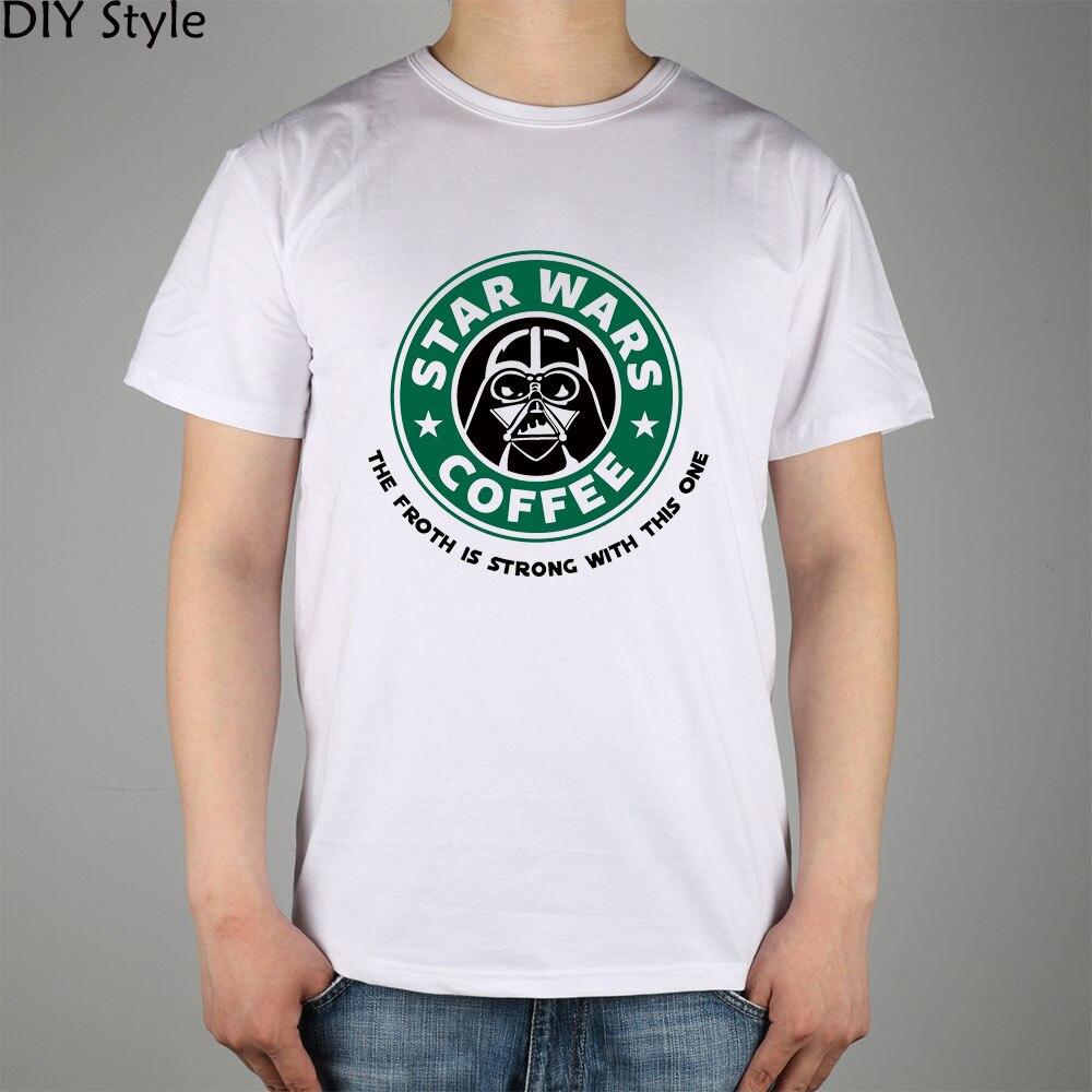STAR WARS COFFEE la fuerza es fuerte con esta camiseta de manga corta - Ropa de hombre - foto 6