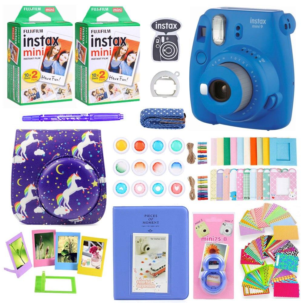 656b800b2f7 Kopen Goedkoop Fujifilm Instax Mini 9 Instant Photo Printing Camera Met 40  Vellen Mini Film Papier Camera Schouderriem Tas Accessoires Bundel Prijs.
