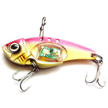 VIB Lure with Flashing LED Light