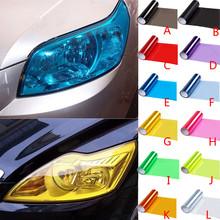 Vinyl Film Sheet Sticker Auto Car Smoke Fog Light Headlight Taillight Tint autocollant de voiture araba aksesuar pegatinas coche cheap Stickers Car Light Color Change Other 3D Sticker CARPRIE car sticker 30cm * 60cm 12 *24 (approx)