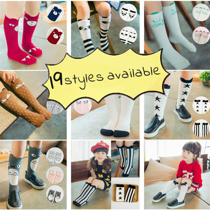 Cotton, Socks, Candy, Leg, Knee, Cute