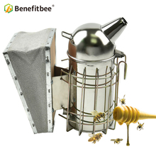 Benefitbee Bee Smoker Small Beekeeping Apicultur For hive Tool Equipment Beekeeper Stainless Steel