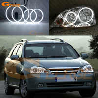 For Chevrolet Lacetti Optra Nubira 2002-2008 Excellent CCFL Angel Eyes kit Halo Rings Ultra bright ccfl illumination