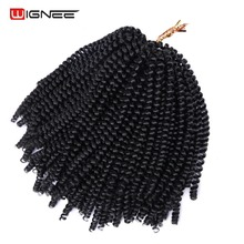 Wignee Spring Curl Hair Pieces New Arrival Synthetic Extensions For Black Women Crochet Twist Braids Africa American