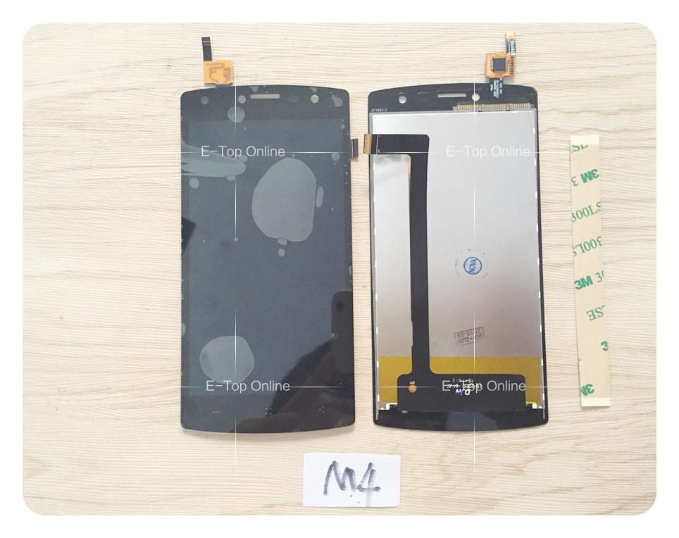 5 inch Black LCD Screen Assembly For M4tel M4 SS4040 LCD Display with Touch Screen Digitizer Assembly + 10 4 inch lca4se01a lcd screen