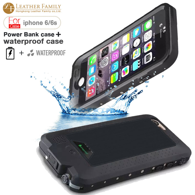 reputable site 5b69e e379a US $37.99 |2750mAh power for iphone 6 6s case life water proof Power Bank  External Backup Battery Portable Charger Cover for iP6s 4.7 inch on ...
