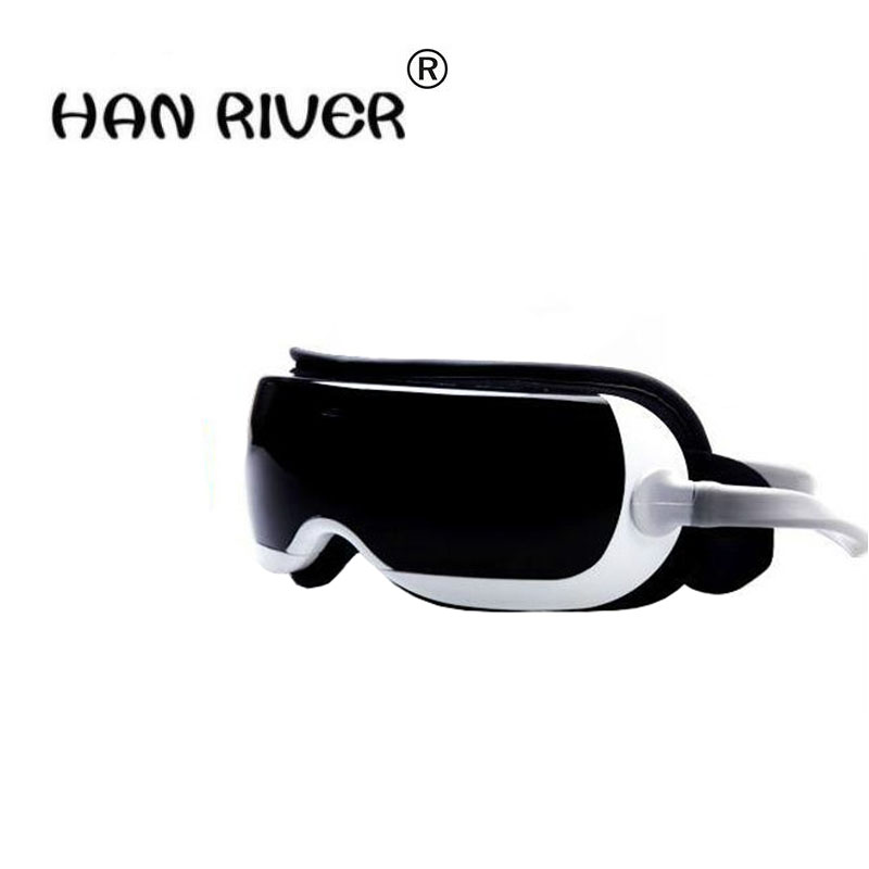 HANRIVER New Air pressure Eye massager with mp3.6 functions.Dispel eye bags,eye magnetic far-infrared heating.eye careHANRIVER New Air pressure Eye massager with mp3.6 functions.Dispel eye bags,eye magnetic far-infrared heating.eye care