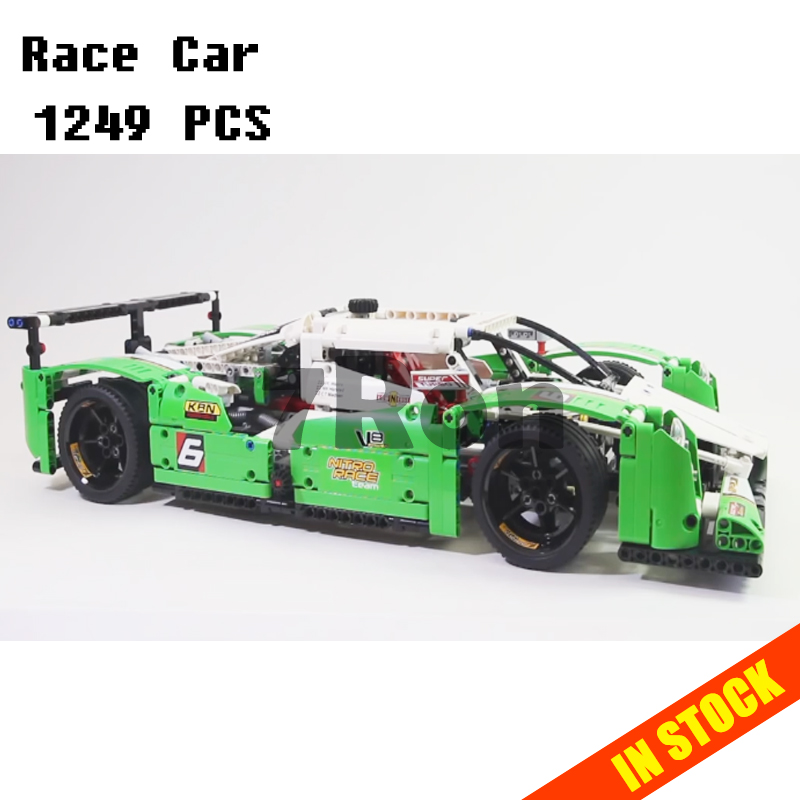 Model building toys hobbies 20003B 1249pcs 24 Hours Race Car 3D Compatible With lego 42039 Blocks Educational DIY Bricks china brand 3364 educational toys for children diy building blocks 42039 technic 24 hours race car compatible with lego