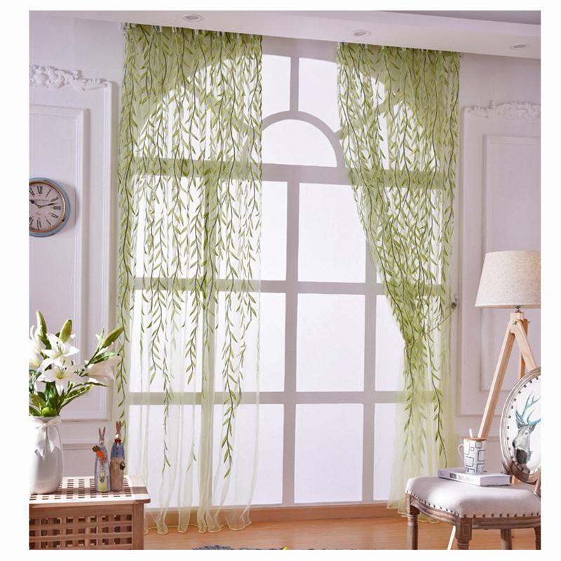 nuevo estilo pastoral de impresin cortinas de tul cocina cortinas cortinas para la sala de cocina decoracin de mi