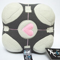 Anime Game Portal 2 Lovely Heart Square Plush Doll Portal 2 Weighted Companion Cube Plush Pillow Baby Stuffed Toys Doll 18 CM