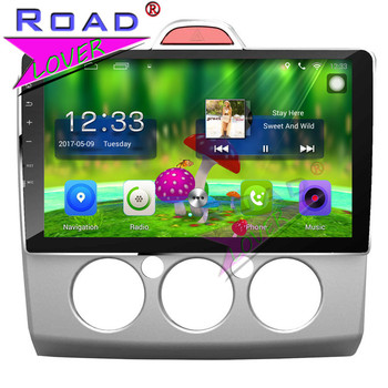 TOPNAVI Android 6.0 2G+32GB 10.1 Car GPS Navigation Head Unit For Ford Focus Manual Stereo NO DVD Player Auto Video Two Din 3G  - buy with discount