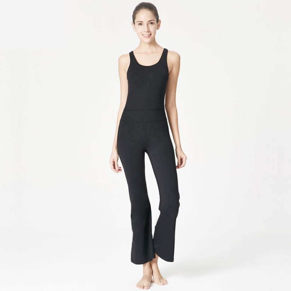 f749b7f8b2f SzBlaze Brand New Womens sexy Jumpsuit Spring Quality Sleeveless Pilates  Clothes Loose Exercise clothing Girl Workout Costume-in Jumpsuits from  Women s ...
