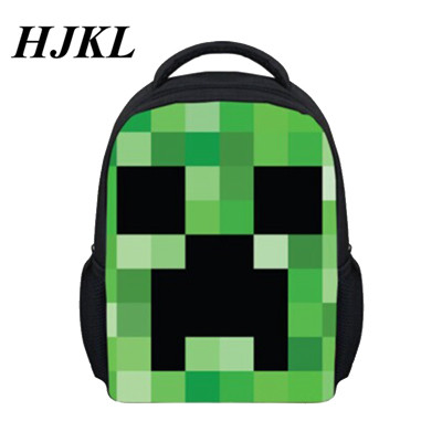 New Minecraft Backpack good Minecraft Glowing School Bag model minecraft  creeper backpack for unisex GAME Birthday gift 10c1fccf41b7c