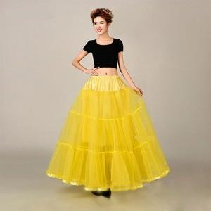 Image 5 - Long Petticoats For Wedding Dress Bridal Petticoat Purple Underskirt Hoepelrok Wedding Accessories Casual Skirt