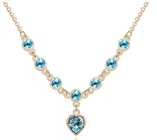 G048 heart shape hight quality fashion pendant necklace for women